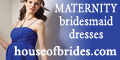 HOUSE OF BRIDES Maternity Bridesmaids dresses