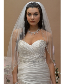 Ansonia Veil Style 639 | House of Brides