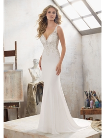 Mori Lee Wedding Dresses Dress Style 8113/Mallory | House of Brides