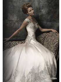 Stephen Yearick Couture Wedding Dress Style 13068 | House of Brides