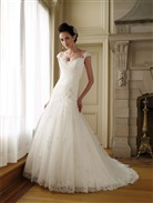 Mon Cheri Wedding Dress Style 111223 Annalisa | House of Brides
