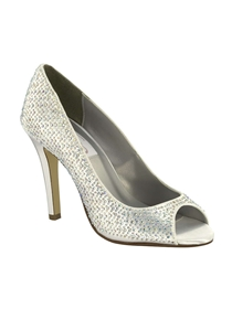 Dyeables Shoes Style Sienna White | House of Brides