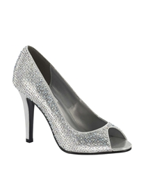 Dyeables Shoes Style Sienna Silver | House of Brides