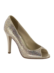 Dyeables Shoes Style Sienna Champagne | House of Brides
