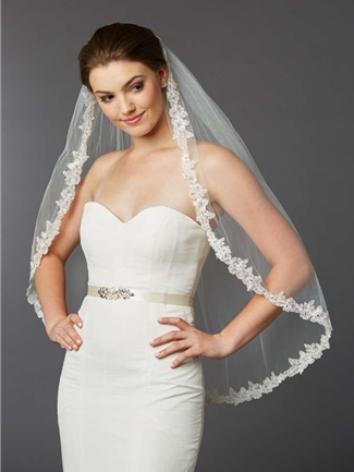 Mariell Veil Style 4416V-I-S | House of Brides