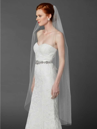 Mariell Veil Style 4433V-52-W | House of Brides