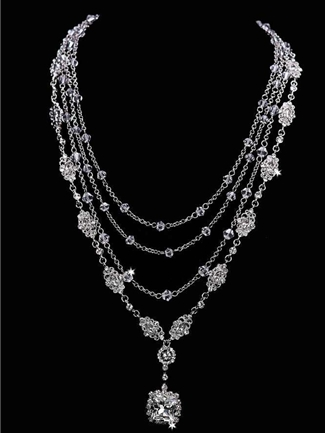 En Vogue Bridal Accessories Necklace Sets Style NL1655 | House of Brides