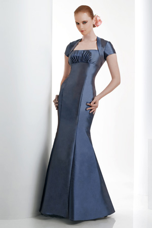 Bari Jay Bridesmaid Dress with sizes 10 8 6 in New Blue – ID926