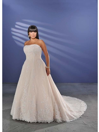 Buy Unforgettable by Bonny Plus Size Bridal Gown – 1009