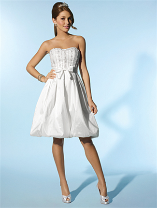 Buy Little White Dress by Alfred Angelo Bridal Gown – 2080