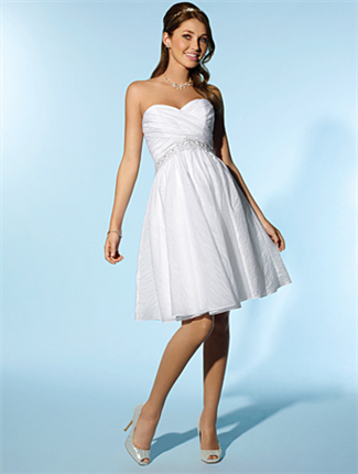 Buy Little White Dress by Alfred Angelo Bridal Gown – 2077