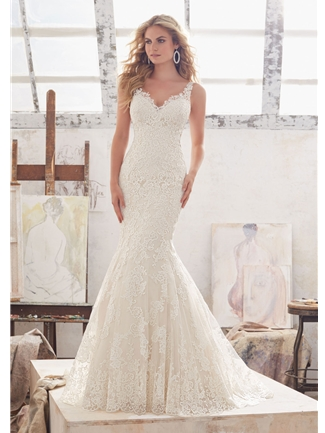Mori Lee Wedding Dresses Dress Style 8115/Maecelline | House of Brides