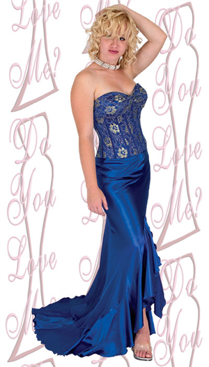 Do You Love Me Prom Dress - 1726