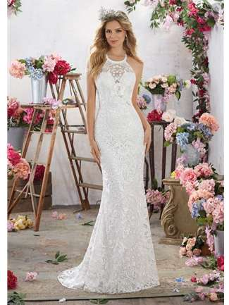 Voyage by Mori Lee Wedding Dress Style 6851/Maybelle | House of Brides