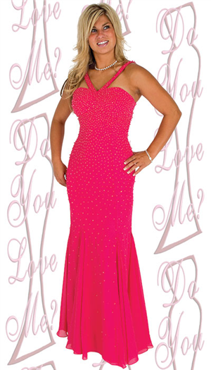 Do You Love Me Prom Dress - 1735