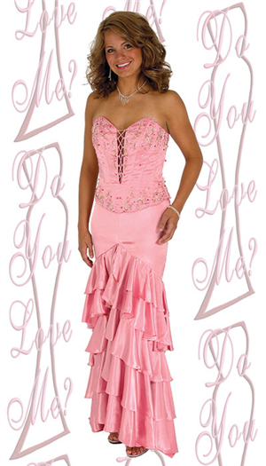 Do You Love Me Prom Dress - 1755