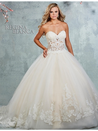 Regina Bianca by Symphony Wedding Dress RB1436 | House of Brides