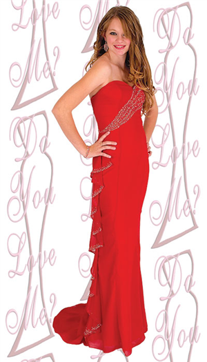 Do You Love Me Prom Dress - 1577