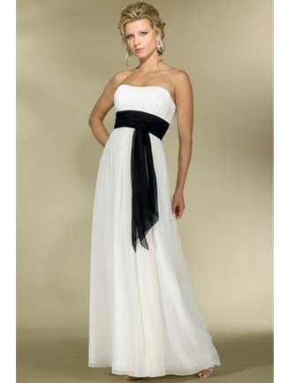 Alexia Designs Bridesmaid Dress with sizes 10 8 6 in Ivory/Black – ID2976