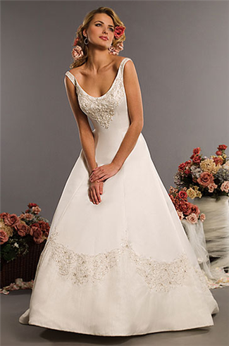 Buy Eden Bridals Bridal Gown with sizes 14 12 10 in Ivory – ID2319