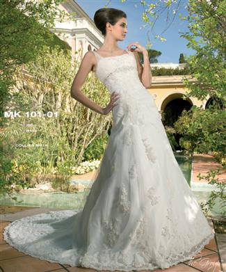 Miss Kelly Bridal Gown - MK101-01 (Miss Kelly Bridal Gowns)