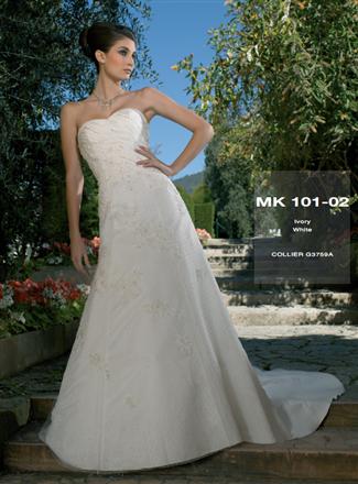 Miss Kelly Bridal Gown - MK101-02 (Miss Kelly Bridal Gowns)