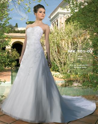 Miss Kelly Bridal Gown - MK101-03 (Miss Kelly Bridal Gowns)