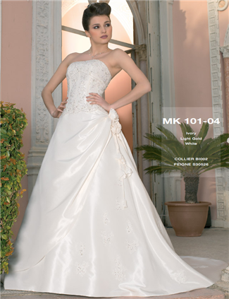 Miss Kelly Bridal Gown - MK101-04 (Miss Kelly Bridal Gowns)