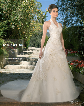 Miss Kelly Bridal Gown - MK101-05 (Miss Kelly Bridal Gowns)