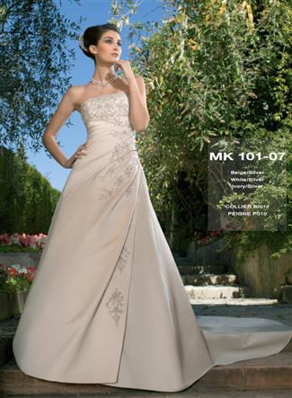 Miss Kelly Bridal Gown - MK101-07 (Miss Kelly Bridal Gowns)