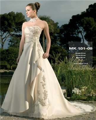 Miss Kelly Bridal Gown - MK101-08 (Miss Kelly Bridal Gowns)