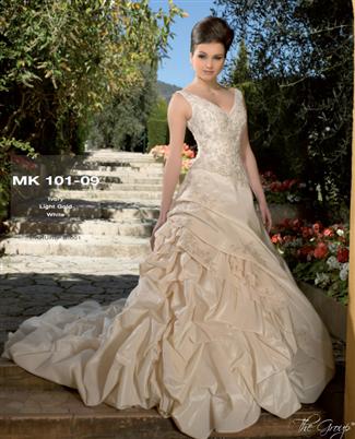 Miss Kelly Bridal Gown - MK101-09 (Miss Kelly Bridal Gowns)