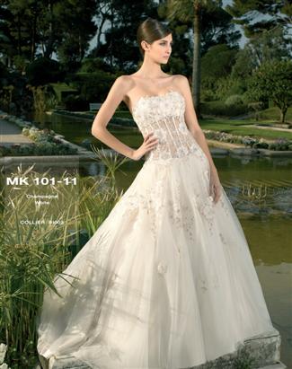 Miss Kelly Bridal Gown - MK101-11 (Miss Kelly Bridal Gowns)