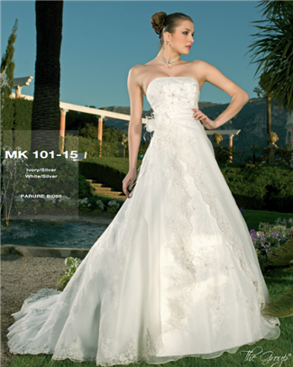Miss Kelly Bridal Gown - MK101-15 (Miss Kelly Bridal Gowns)