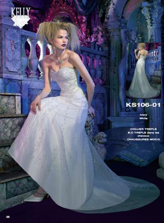 Kelly Star Bridal Gown - KS106-01 (Kelly Star Bridal Gowns)