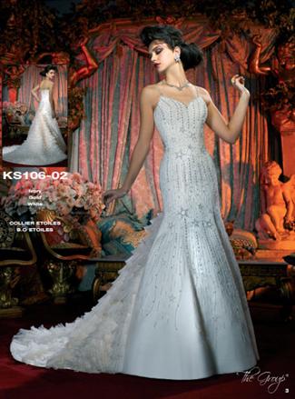 Kelly Star Bridal Gown - KS106-02 (Kelly Star Bridal Gowns)