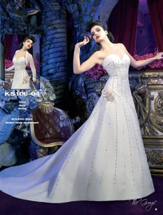 Kelly Star Bridal Gown - KS106-04 (Kelly Star Bridal Gowns)