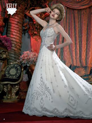 Kelly Star Bridal Gown - KS106-05 (Kelly Star Bridal Gowns)