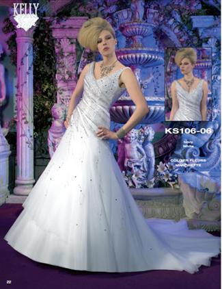 Kelly Star Bridal Gown - KS106-06 (Kelly Star Bridal Gowns)