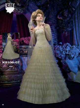 Kelly Star Bridal Gown - KS106-07 (Kelly Star Bridal Gowns)