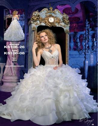Kelly Star Bridal Gown - KS106-08 (Kelly Star Bridal Gowns)
