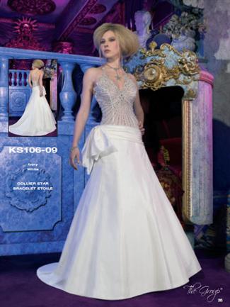 Kelly Star Bridal Gown - KS106-09 (Kelly Star Bridal Gowns)