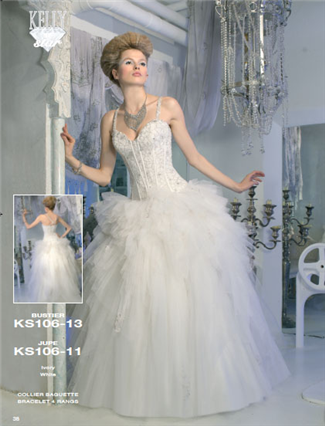 Kelly Star Bridal Gown - KS106-11 (Kelly Star Bridal Gowns)