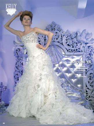 Kelly Star Bridal Gown - KS106-15 (Kelly Star Bridal Gowns)