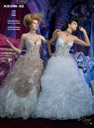 Kelly Star Bridal Gown - KS106-32 (Kelly Star Bridal Gowns)