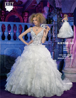 Buy Kelly Star Bridal Gown – KS106-33