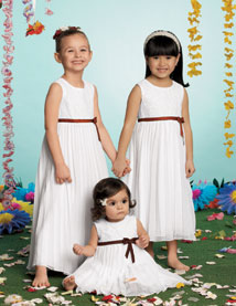 Sweet Beginnings Flowergirl Dress - K404T (Sweet Beginnings Flower Girl Dresses)
