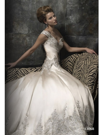 Stephen Yearick Couture Bridal Gown - 13068 (Stephen Yearick Bridal Gowns)