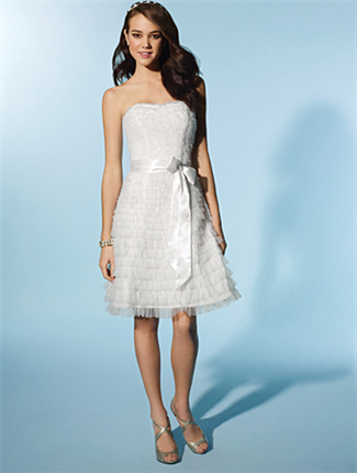 Buy Little White Dress by Alfred Angelo Bridal Gown – 2081