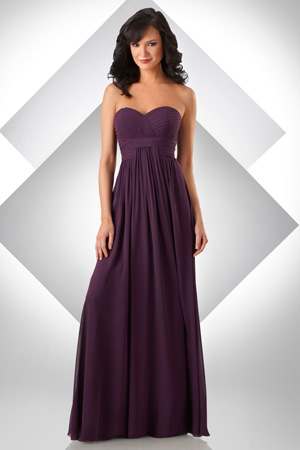 Bari Jay Bridesmaid Dress with sizes 10 8 6 in Mink – ID332